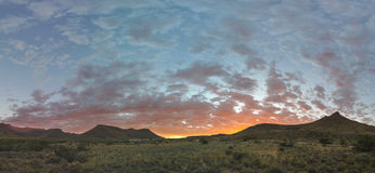 Sunrise at Karoo NP Royalty Free Stock Photos