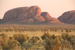 Sunrise at Kata Tjuta Stock Photos