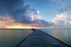 Sunrise at Key West. Florida, White Street stock images