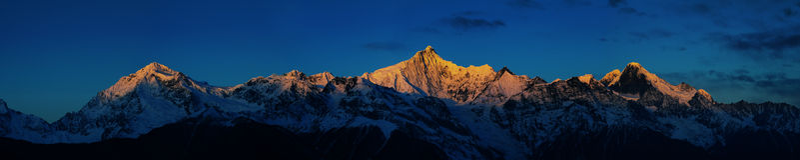 Sunrise on Khabadgarbo Royalty Free Stock Images
