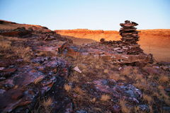 Sunrise in Khakasia Royalty Free Stock Photos