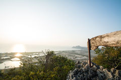 Sunrise at Khao Dang Viewpoint, Samroiyod national park, Thailand Stock Image