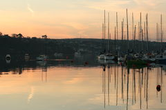 Sunrise in Kinsale Royalty Free Stock Photo