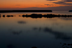 Sunrise in Kivik Royalty Free Stock Photo