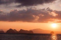 Sunrise Koh Yao Noi Royalty Free Stock Photo