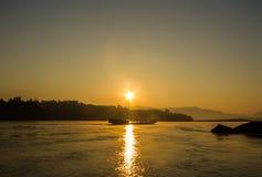 Sunrise at Kohong river. Stock Images