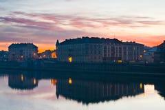 Sunrise, Krakow, Poland Royalty Free Stock Image