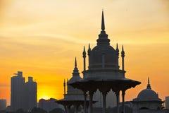 Sunrise in Kuala Lumpur Stock Images