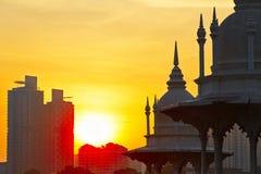 Sunrise in Kuala Lumpur Royalty Free Stock Photography