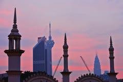 Sunrise in Kuala Lumpur Royalty Free Stock Photo