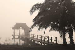 Sunrise on the lake Royalty Free Stock Image
