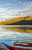Sunrise on the lake Stock Photography