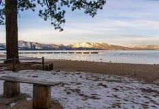 Sunrise at Lake Tahoe royalty free stock images