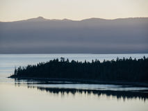 Sunrise, Lake Tahoe Stock Images