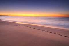 Sunrise at Lakes Entrance, Victoria, Australia Royalty Free Stock Photography