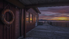 Sunrise landscape Stock Image