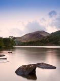 Sunrise landscape over Llyn Gwynant Royalty Free Stock Image
