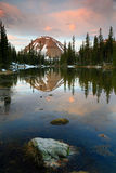 Sunrise landscape in the Uinta Mountains. Stock Photo