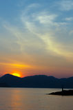 Sunrise in Langkawi at malaysia Royalty Free Stock Photography
