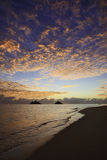 Sunrise at lanikai beach Royalty Free Stock Photography