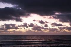 Sunrise in Lanzarote Stock Image
