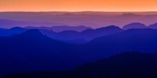 Sunrise in the Laramie Mountains of Colorado Royalty Free Stock Image