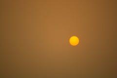 Sunrise, light rays. Sunrise on sky, light rays. Background Stock Photography