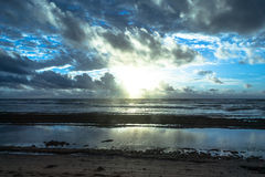 Sunrise at Lihue, Kauai, Hawaii Royalty Free Stock Photo