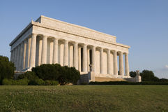 Sunrise at Lincoln Memorial Stock Photography