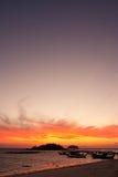 Sunrise at Lipe island, south of Thailand Royalty Free Stock Image