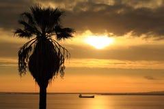 Sunrise in Lisbon Stock Images