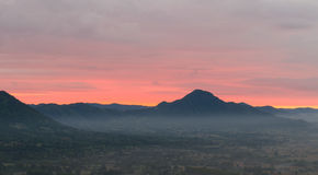 Sunrise at Loei province, Thailand Stock Photography