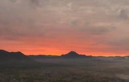 Sunrise at Loei province, Thailand Stock Images