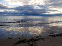 Sunrise at Lossiemouth royalty free stock photography