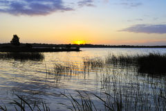Sunrise - Lough Ennell Stock Photos