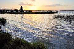 Sunrise - Lough Ennell Royalty Free Stock Photography