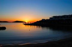 Sunrise at luxury resort Stock Photography