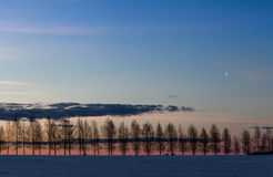 Sunrise. At Maardu Manor, Estonia Stock Image