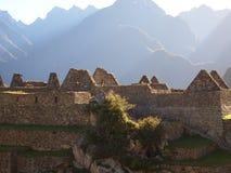 Sunrise in Machu Picchu Stock Images