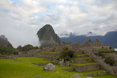 Sunrise at Machu Picchu Royalty Free Stock Image