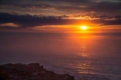 Sunrise on maine coast. Morning sunrise on maine coast Royalty Free Stock Image