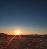 Sunrise at Majjistral Point Stock Image