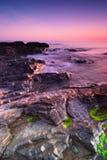Sunrise in Malahide. Sunrise over Irish Sea in Malahide, Republic of Ireland Royalty Free Stock Image