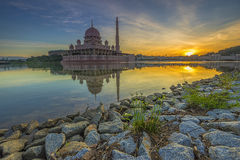 Sunrise in Malaysia Stock Images