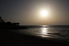 The Sunrise. Sunrise in Mallorca, Spain Royalty Free Stock Photo