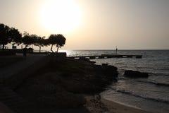 The Sunrise. Sunrise in Mallorca, Spain Stock Photography
