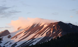 Sunrise on Mammoth mountain Royalty Free Stock Images