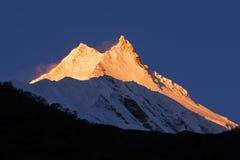 Sunrise at Manaslu Royalty Free Stock Images