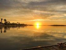 Sunrise. In Marco Island FL Stock Photos