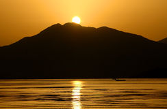 Sunrise in Marmaris Stock Image